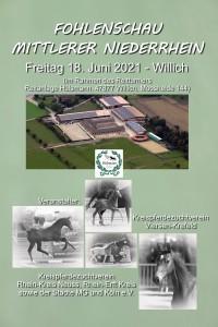 Fohlenschau Kreis Viersen & Kreis Neuss-Erft/ MG
